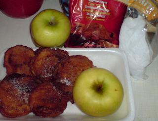 Desert dulce cu mere in aluat de clatite