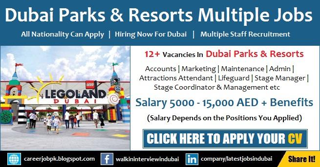 Dubai Parks and Resorts Careers and Job Vacancies in UAE