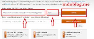 Cara Mudah dan Cepat Download di Youtube Ke MP3