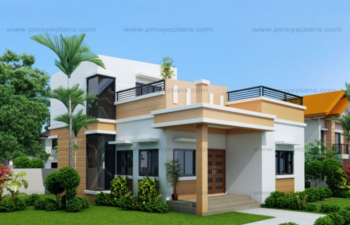 10 BUNGALOW & SINGLE STORY MODERN HOUSE WITH FLOOR PLANS AND ... on nice house windows, nice house rooms, nice house decks, nice house stairs, nice house roofs,