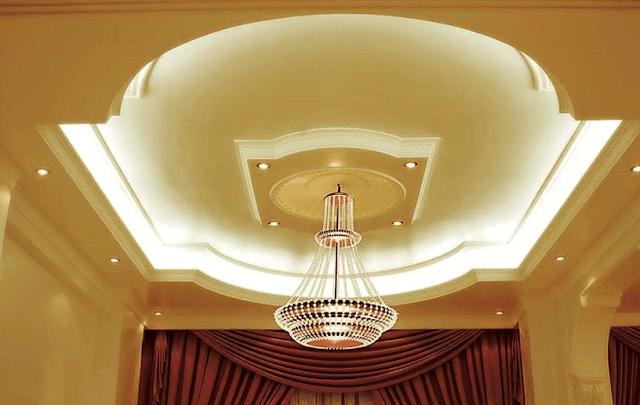 Model Plafon minimalis Untuk Ruang Tamu Terbaru yang Mengesankan