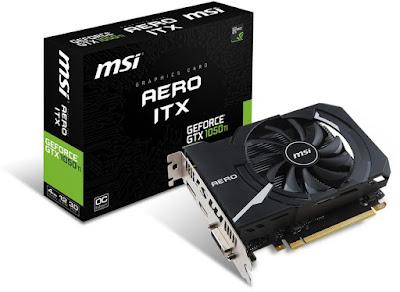 MSI GeForce GTX 1050 Ti AERO ITX