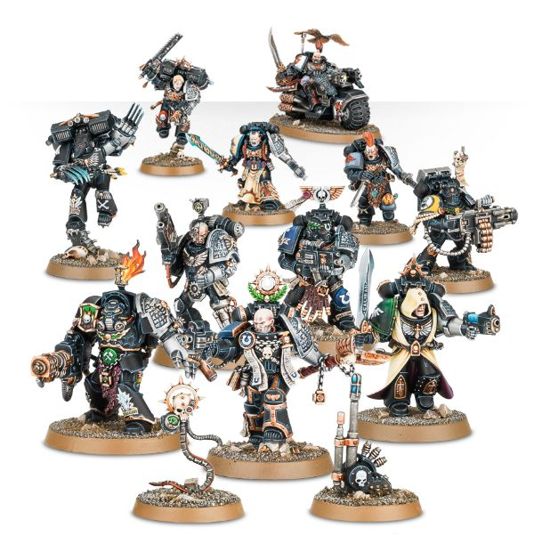 Element Games: Cheap Games Workshop Warhammer 40K Deathwatch Overkill Deathwatch Marines