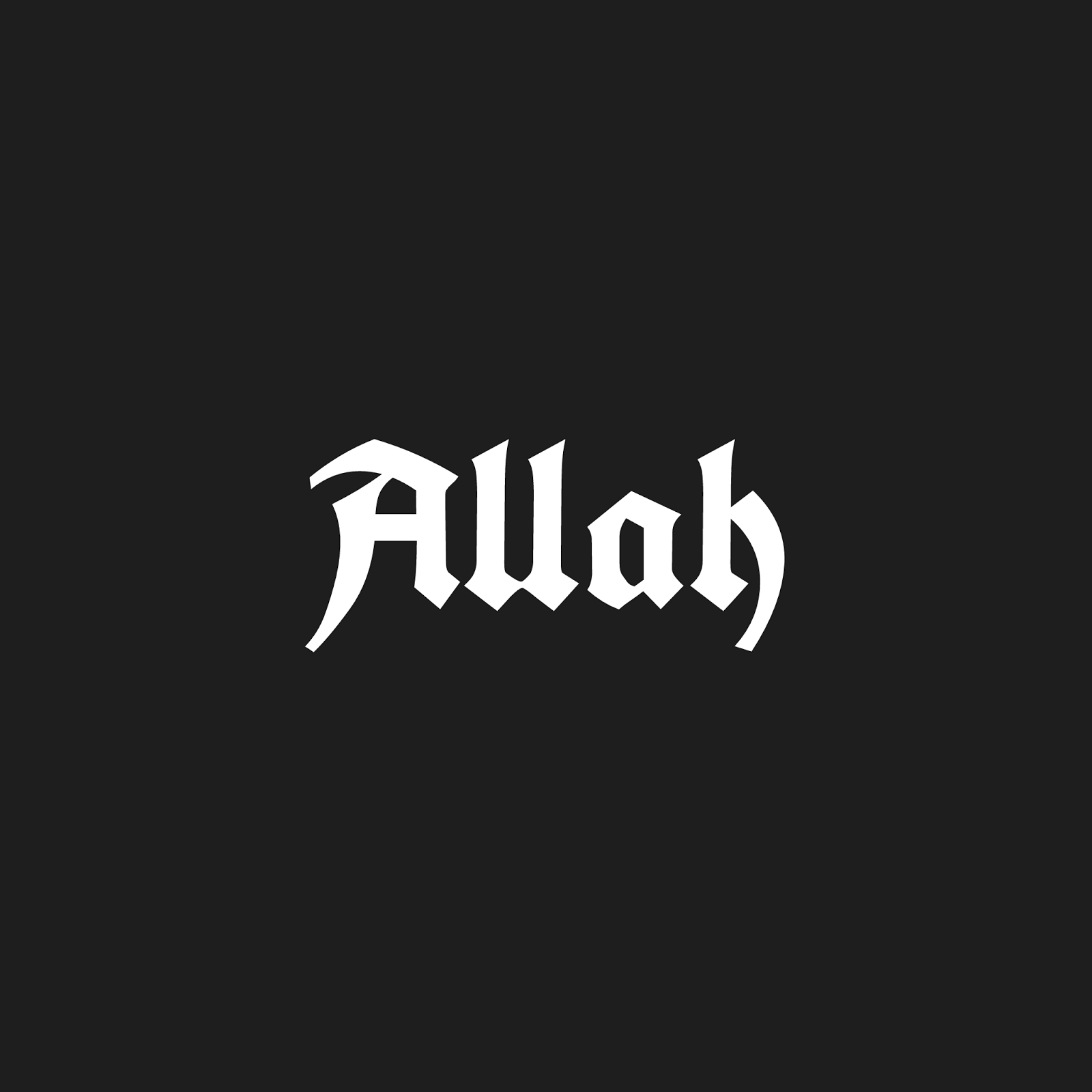 allah name hd wallpaper for pc in different fonts - islam