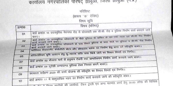 पार्षद पपीश पानेरी ने नपा सीएमओ को आवेदन देकर लीज प्रक्रिया को निरस्त करने की मांग की