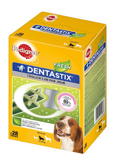 Healthy teeth strong Gum Pedigree Dentastix Fresh Dental Dog Chews great price £18.0