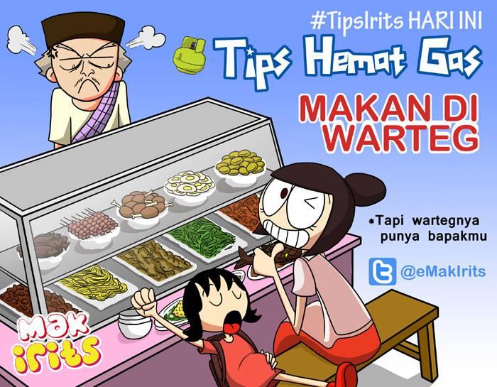 Tips Hemat Gas Ala Mak Irits