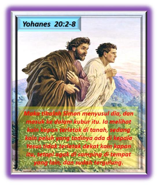Yohanes 20:2-8