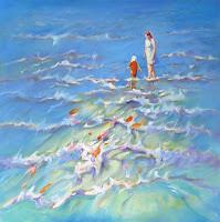 mary kemp- oil painting.