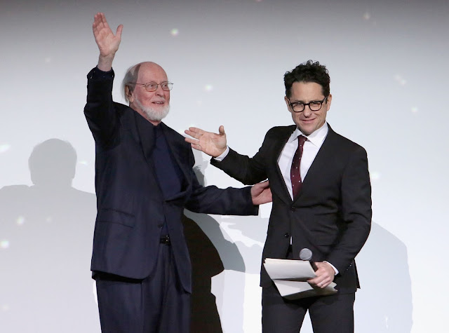 John Williams and J.J. Abrams