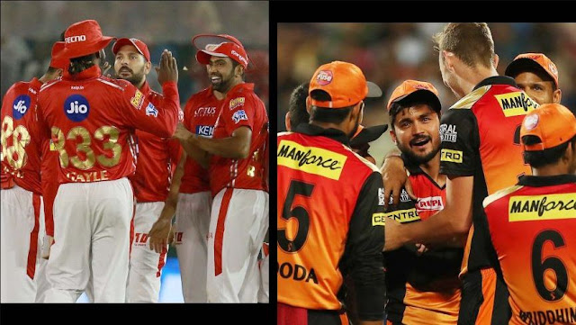 IPL 2018 Live Streaming - KXIP vs SRH