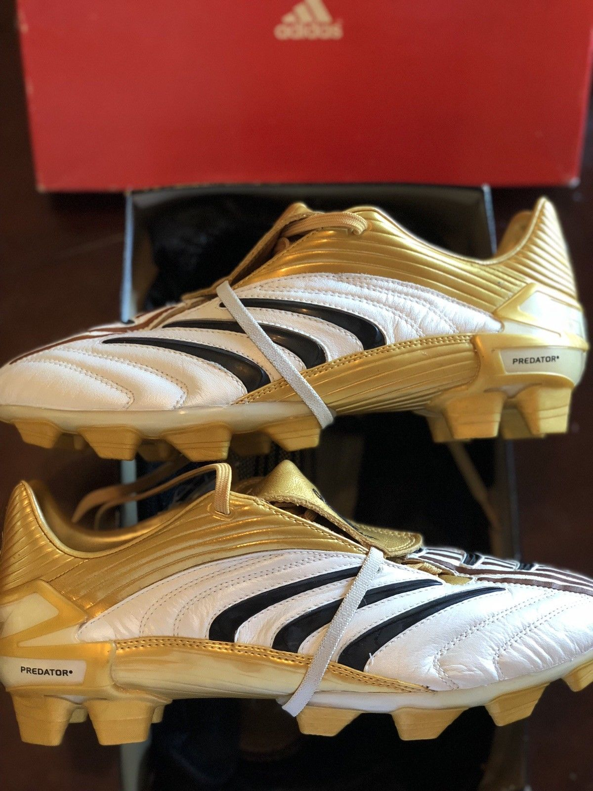 amazing selection run shoes new high quality Triple Comeback in 2019 - 9 Gold x Adidas Predator Football ...