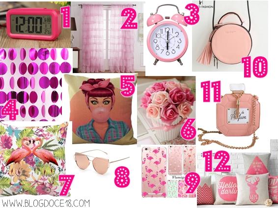 Lista de Desejos: Explosão cor de rosa