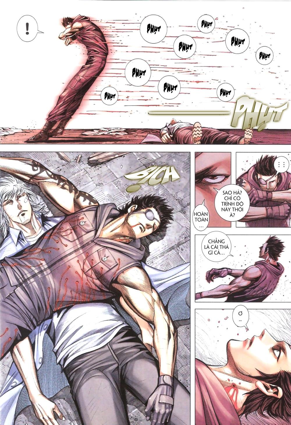 Đại Quân Phiệt chap 9 trang 24