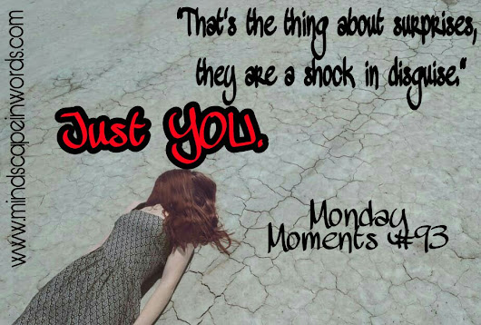 Just You. (Monday Moments #93)