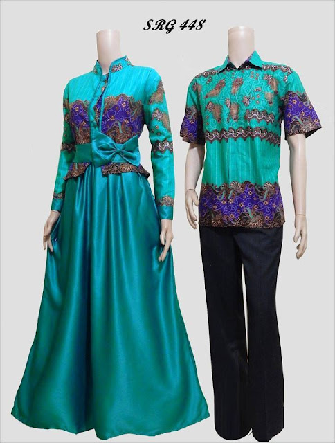model baju batik modern untuk pasangan