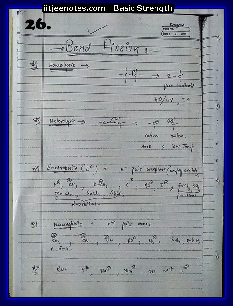 basic strength notes iitjee3