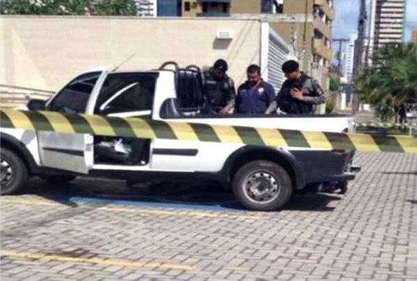 Preso genro acusado de mandar matar empresário, na Paraíba