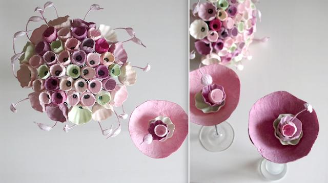Bouquet di fiori di carta di Alessandra Fabre Repetto
