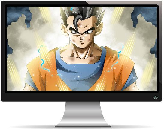 Ultimate Gohan Dragon Ball Super - Fond d'écran en Full HD 1080p