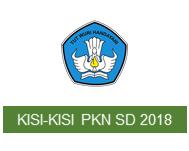 Kisi-Kisi Ujian Sekolah PKn SD tahun 2018