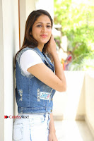 Telugu Actress Lavanya Tripathi Latest Pos in Denim Jeans and Jacket  0097.JPG