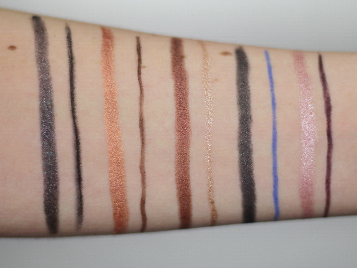 Manhattan Eyemazing Double Effect Eyeshadow Liner Swatch