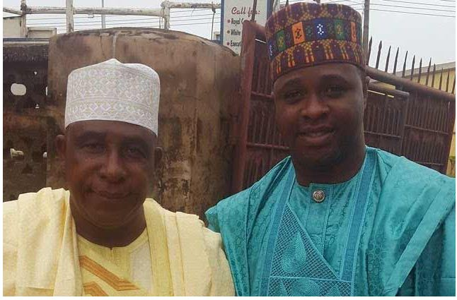 oga bello and his popular son actor femi Adebayo