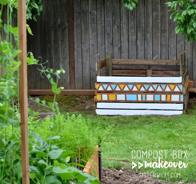 compost box makeover