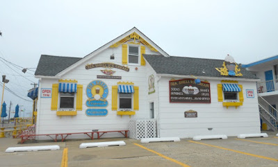 Sea Shell Ice Cream Parlor in Wildwood New Jersey