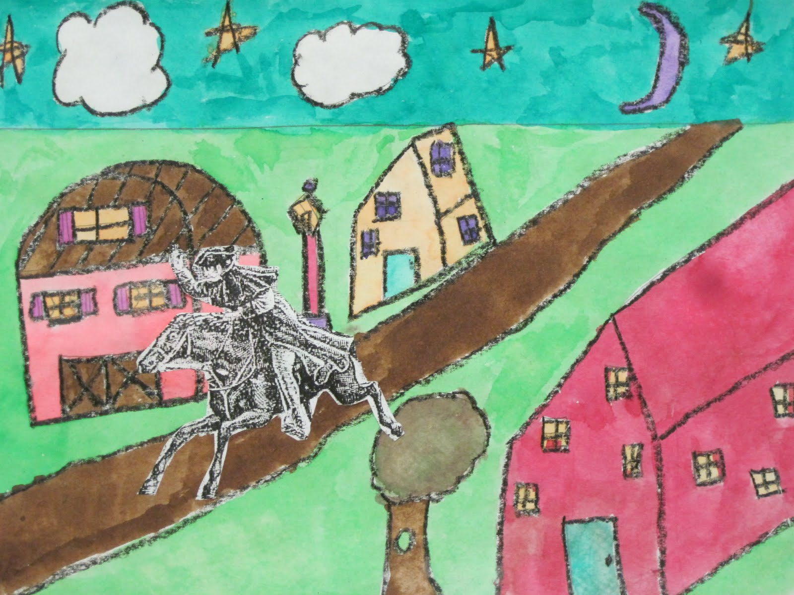 Lines Dots And Doodles Paul Revere S Ride 5th Grade