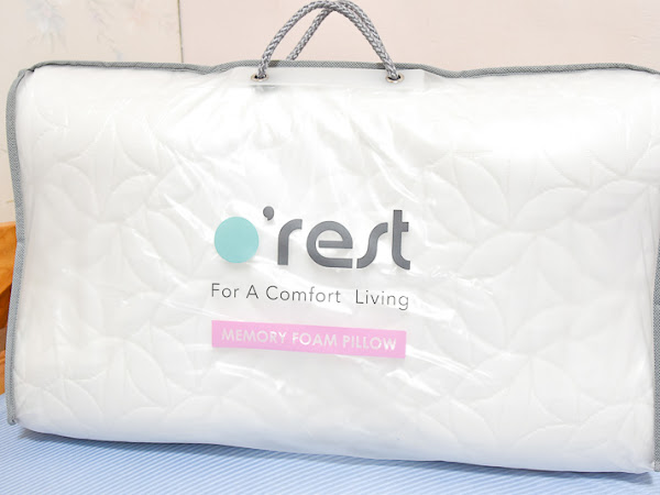 好好睡覺是生命最重要的事—o'rest 舒眠生活記憶枕