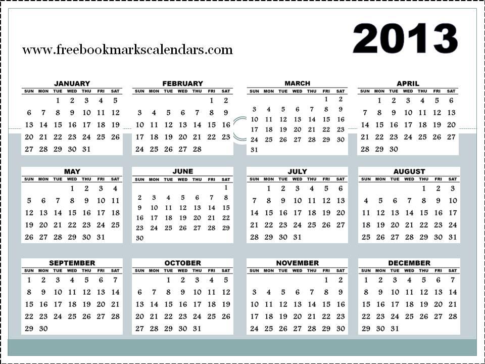 whole year calendar - Towerssconstruction