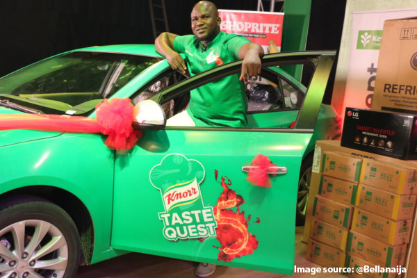 WAVE ALUMNUS WINS FIVE MILLION NAIRA AND A CAR