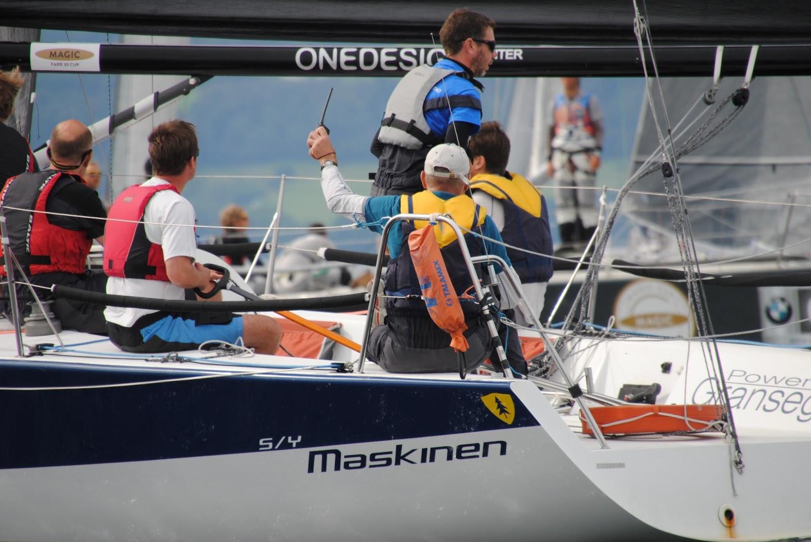 Fyra svenskar i seglingsdrama
