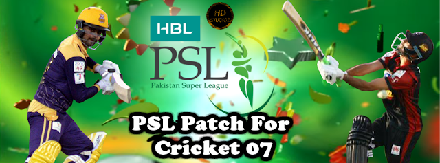 HBL Pakistan Super League 2016 Patch For Cricket 07