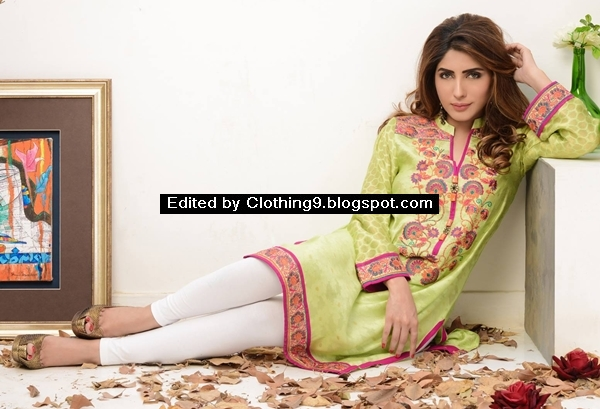 Mahwish & Farishtay Silk Tunics Collection 2016-17