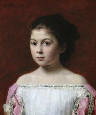 Marie-Yolande de Fitz-James - Henri Fantin-Latour - Suas melhores pinturas ~ francês