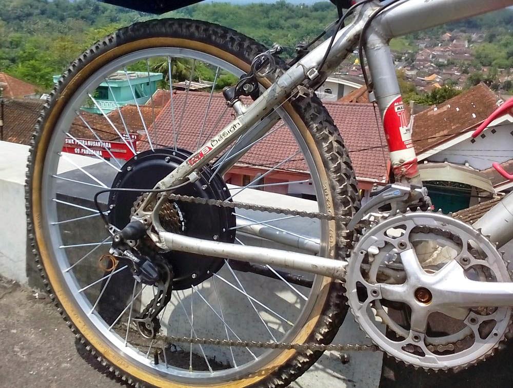dinamo sepeda listrik