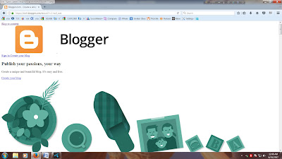 How to create a free Website on Blogspot?