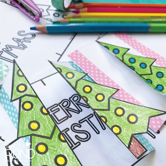 Free Christmas Card Printable for School and Classroom