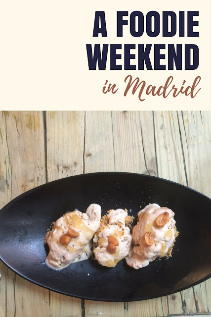 A foodie weekend in Madrid