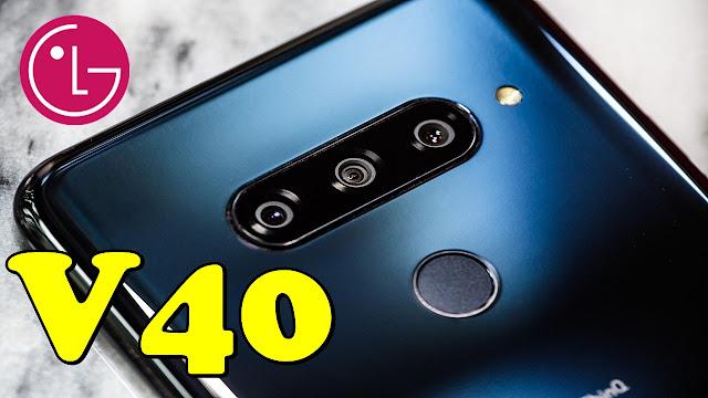 سعر ومواصفات هاتف LG V40