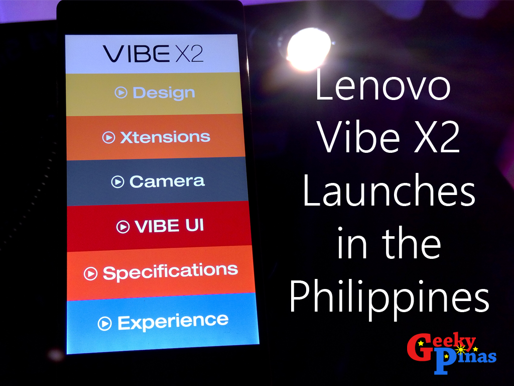 Lenovo Vibe X2 Officially Launched In The Philippines Priced At Php 4glte 32gb Gold Meet