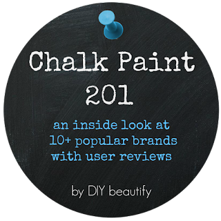 An informative look at over 10 Chalk Paint brands with user reviews, by DIY beautify