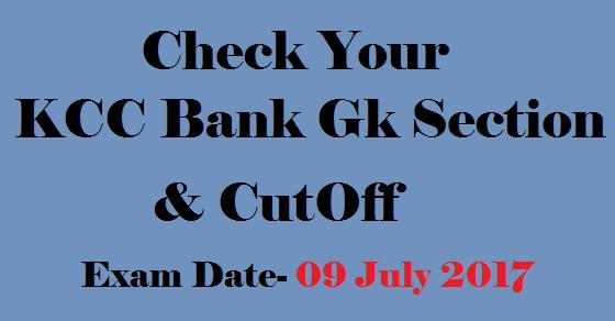 Kcc bank cutoff