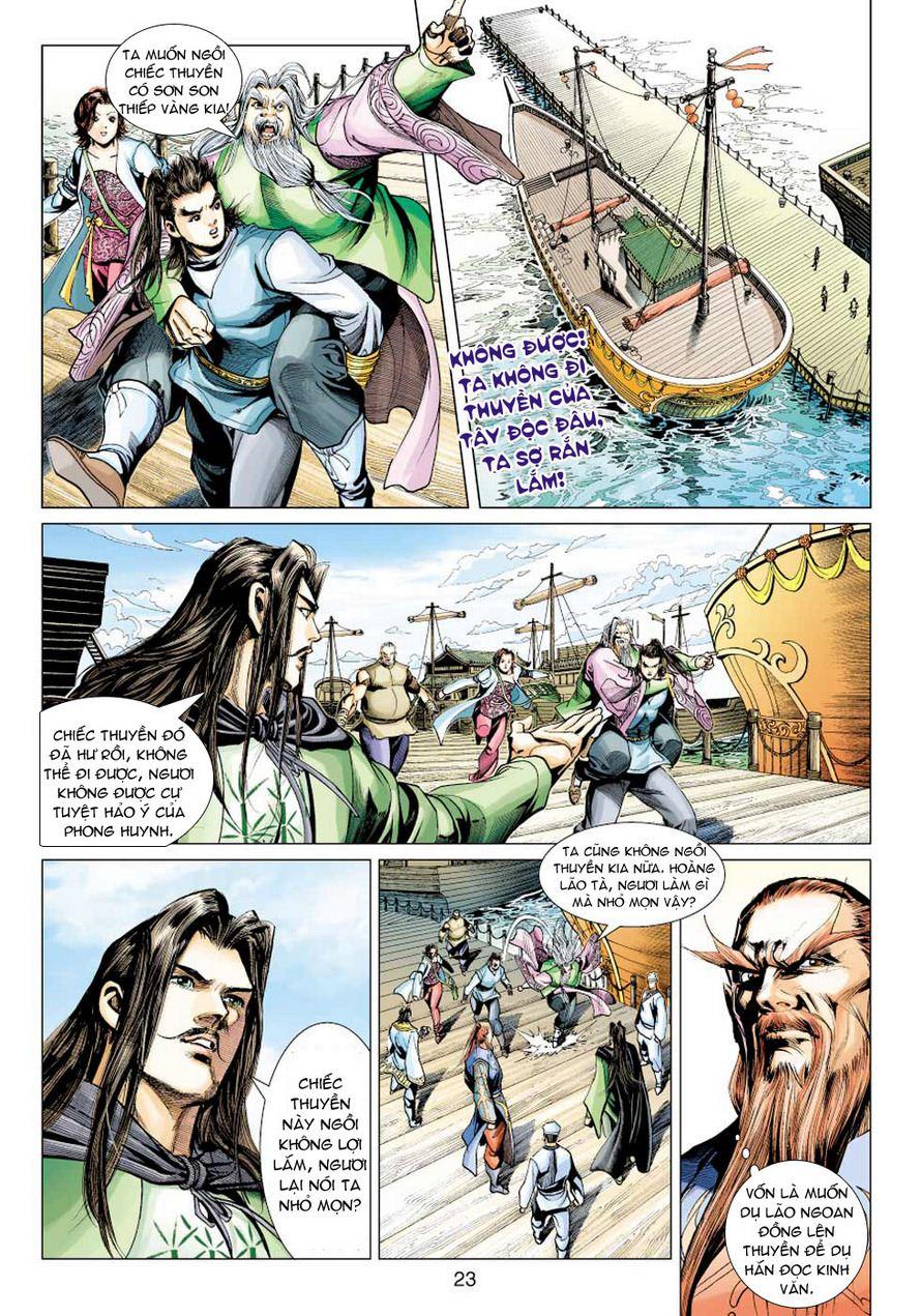 Anh Hùng Xạ Điêu anh hùng xạ đêu chap 49 trang 23