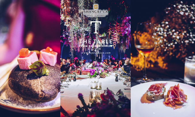 Curated Dining Experiences with Shangri-La's The Table from Golden Circle