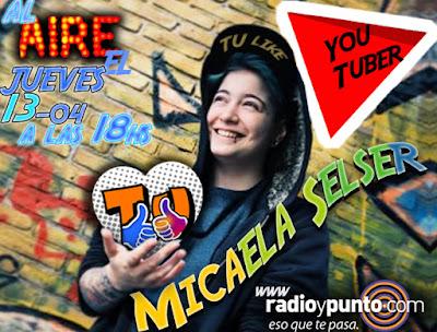 micaela selser youtuber youtube tu like radio radio y punto www.cygbasrl.com.ar administracion cygba