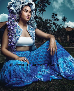Sonakshi Sinha in cool Bridal Fashion for Harpers Bazaar Bride Magazine May 2016